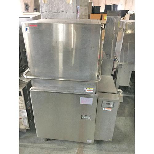 【中古】食器洗浄機 ドアタイプ フジマック FDW60DE 幅970×奥行670×高さ1435 三相200V 50Hz専用 fujimak【業務用】【送料別途見積】