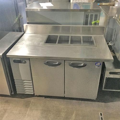 【中古】冷蔵サンドイッチコールドテーブル パナソニック(Panasonic) SUR-G1271SA 幅1300×奥行750×高さ800 【送料別途見積】【業務用】【厨房機器】