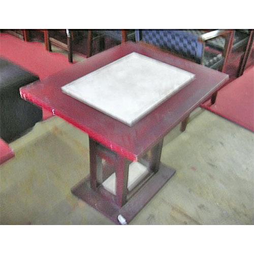 【中古】テーブル 幅800×奥行650×高さ700 【送料無料】【業務用】