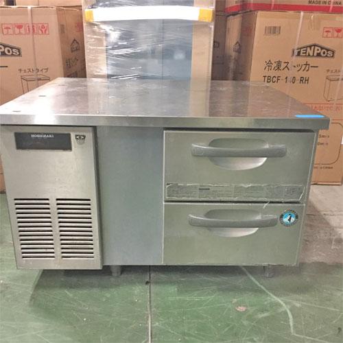 【中古】冷蔵低ドロワーコールドテーブル ホシザキ RTL-90DDC-SY1 幅900×奥行600×高さ570 【送料無料】【業務用】【厨房機器】