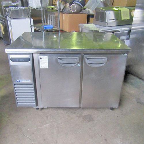 【中古】冷凍冷蔵コールドテーブル 福島工業(フクシマ) TRW-41PE 幅1200×奥行750×高さ825 【送料別途見積】【業務用】