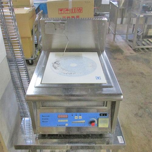 【中古】IH調理器 卓上タイプ ニチワ電機 幅450×奥行600×高さ520 三相200V 【送料無料】【業務用】