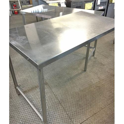 【中古】クリーンテーブル タニコー 幅1180×奥行640×高さ830 【送料無料】【業務用】