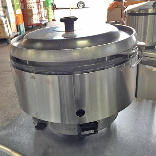 【中古】ガス炊飯器 リンナイ RR-50S2 幅543×奥行506×高さ442 都市ガス 【送料無料】【業務用】【厨房機器】