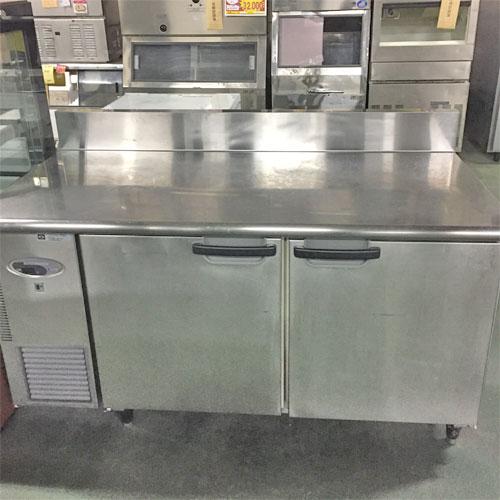 【中古】冷蔵コールドテーブル フジマック FRT1575JR 幅1500×奥行750×高さ850 【送料別途見積】【業務用】