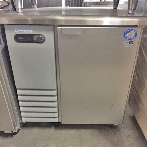【中古】冷蔵コールドテーブル パナソニック(Panasonic) SUR-G771-SB 幅750×奥行750 【送料別途見積】【業務用】