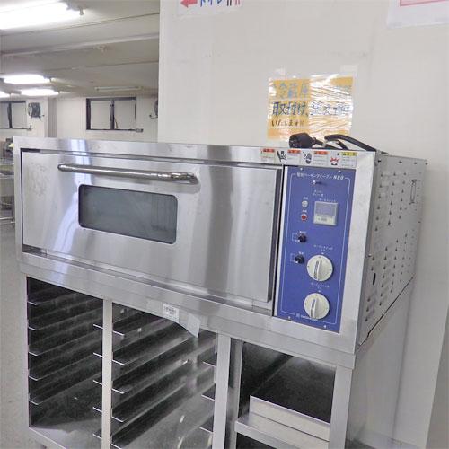 【中古】電気ベーキングオーブン 二チワ電気 NBO-6MP 幅1250×奥行800×高さ455 三相200V 【送料別途見積】【業務用】【厨房機器】
