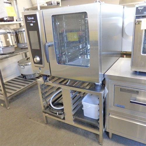 【中古】スチームコンベクションオーブン フジマック FSCCWE61G 幅850×奥行740×高さ1445 都市ガス 【送料別途見積】【業務用】【厨房機器】