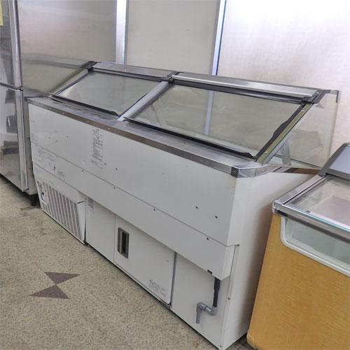 【中古】【業務用】冷凍ディピングショーケース サンヨー電気 SCR-VD20N 幅1840×奥行780×高さ1124 三相200V 【送料無料】【厨房機器】