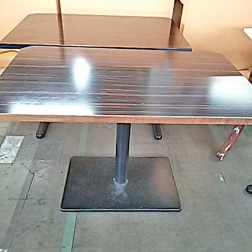 【中古】4人掛けテーブル 側面白 幅1080×奥行700×高さ725 【送料無料】【業務用】