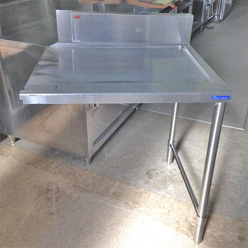 【中古】ソイルドテーブル 幅750×奥行680×高さ800 【送料無料】【業務用】