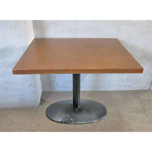 【中古】テーブル 幅900×奥行750×高さ710 【送料無料】【業務用】