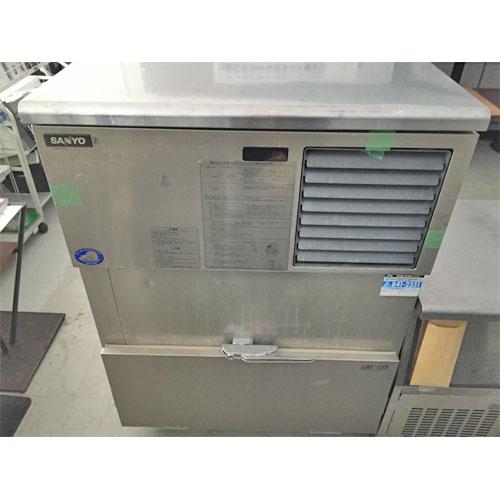 【中古】製氷機 サンヨー SIM-S140XN 幅905×奥行650×高さ1335 【送料別途見積】【業務用】【厨房機器】