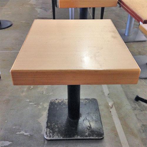 【中古】テーブル 幅600×奥行750×高さ730 【送料無料】【業務用】