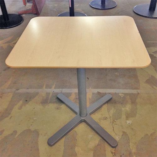 【中古】喫茶テーブル 幅600×奥行700×高さ750 【送料無料】【業務用】