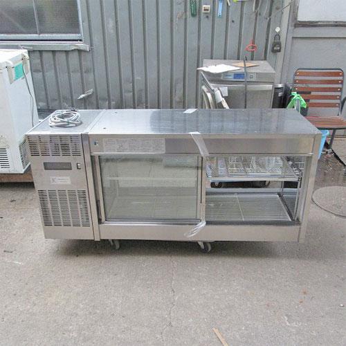 【中古】冷蔵ショーケース フジマック FCD-15PMB 幅1500×奥行550×高さ640【送料別途見積】【業務用】