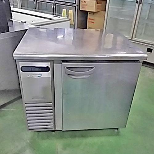 【中古】冷蔵コールドテーブル 福島工業(フクシマ) TRW-30RM 幅900×奥行750×高さ810 【送料無料】【業務用】【厨房機器】