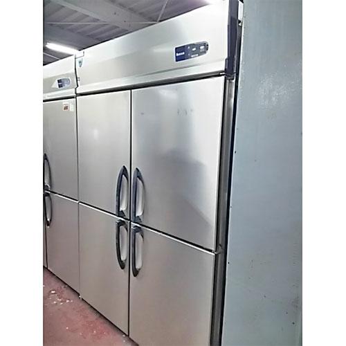 【中古】縦型冷凍庫 大和冷機 413YS-NP-EC 幅1200×奥行650×高さ1900 三相200V 【送料別途見積】【業務用】