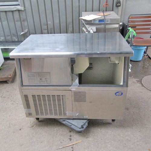 【中古】製氷機 サンヨー SIM-S88U 幅1005×奥行600×高さ850/業務用/送料別途見積【厨房機器】