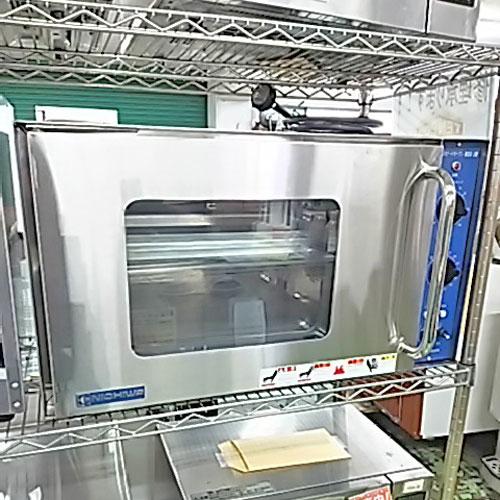 【中古】電気スピードオーブン ニチワ電機 NSO-3N 幅730×奥行420×高さ405 【送料別途見積】【業務用】
