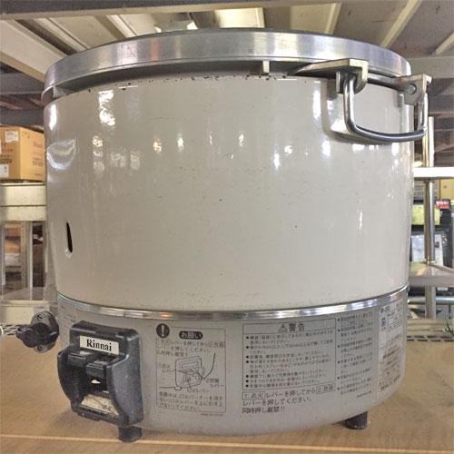 【中古】ガス炊飯器 リンナイ RR-30S1 幅400×奥行400×高さ400 都市ガス 【送料別途見積】【業務用】【厨房機器】