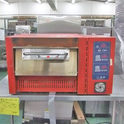 【中古】高温式ピザオーブン ニチワ電機 NPO-3.8 幅770×奥行590×高さ440 三相200V 【送料別途見積】【業務用】【厨房機器】