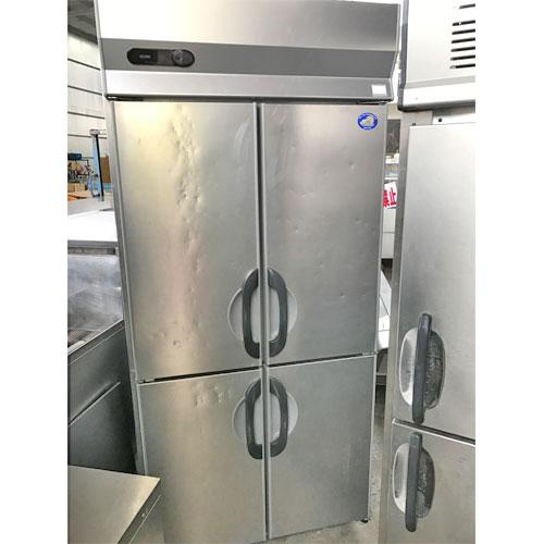 【中古】縦型冷凍庫 SANYO SRF-G983S 幅900×奥行800×高さ2000 三相200V 【送料別途見積】【業務用】
