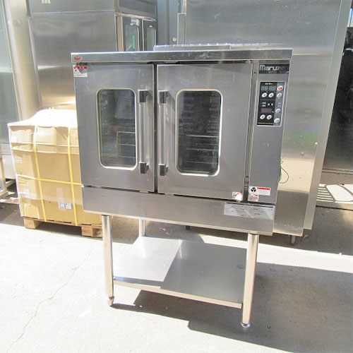 【中古】《大幅値下》コンベクションオーブン(ビックオーブン) マルゼン MCO-9SD 幅890×奥行760×高さ1350 都市ガス 【送料無料】【業務用】