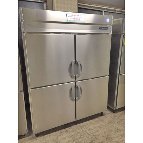 【中古】縦型冷蔵庫 福島工業(フクシマ) URD-150RM6 幅1490×奥行800×高さ1950 【送料別途見積】【業務用】【厨房機器】
