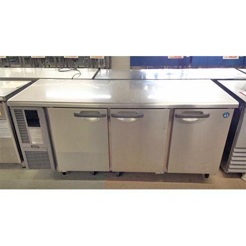 【中古】冷蔵コールドテーブル ホシザキ RT-180SDF-3 幅1800×奥行750×高さ800 三相200V 【送料別途見積】【業務用】