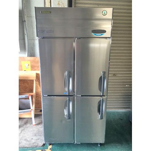 【中古】縦型冷凍冷蔵庫 ホシザキ HRF-90XT 幅900×奥行800×高さ1890 三相200V 【送料無料】【業務用】【厨房機器】