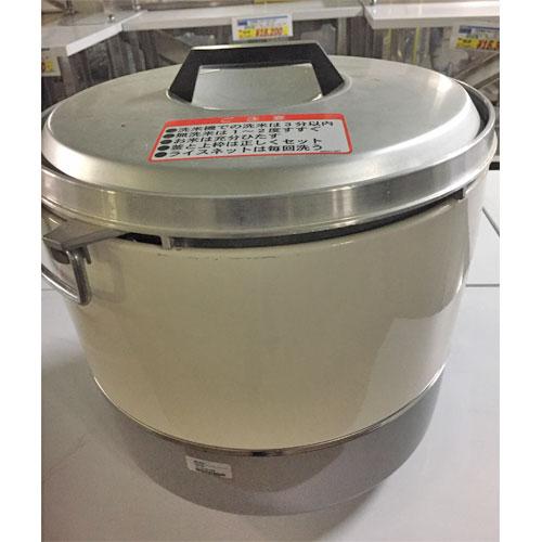【中古】ガス炊飯器 リンナイ RR-30S1 幅450×奥行420×高さ407 LPG(プロパンガス) 【送料無料】【業務用】