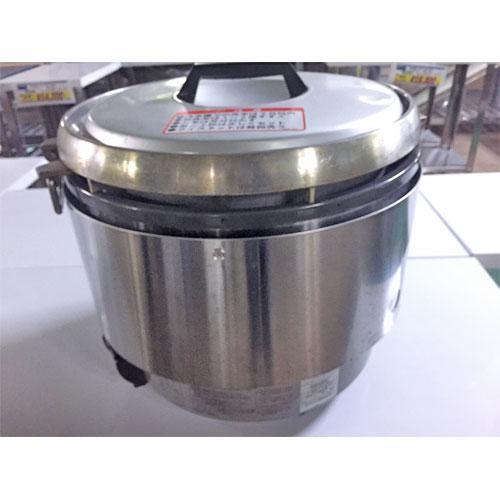 【中古】ガス炊飯器 リンナイ BRR37 幅440×奥行410×高さ410 LPG(プロパンガス) 【送料無料】【業務用】【厨房機器】