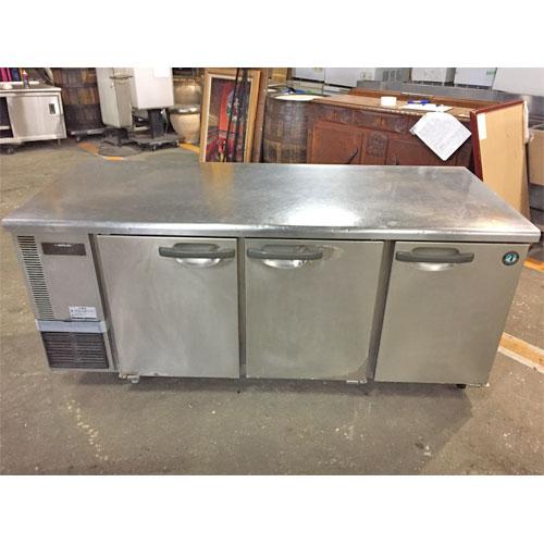 【中古】冷蔵コールドテーブル ホシザキ RT-180SDE 幅1800×奥行750×高さ800 【送料無料】【業務用】