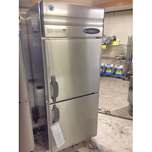 【中古】縦型冷蔵庫 ホシザキ HR-75Z3 幅750×奥行800×高さ1900 三相200V 【送料別途見積】【業務用】【厨房機器】