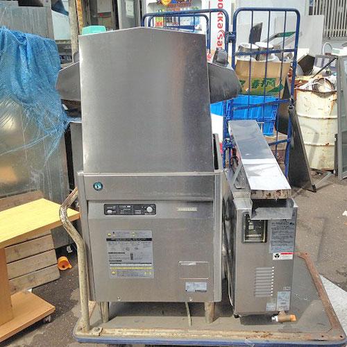【中古】食器洗浄機 ホシザキ JWE-450WA 幅650×奥行600×高さ1310 LPG(プロパンガス) 【送料無料】【業務用】