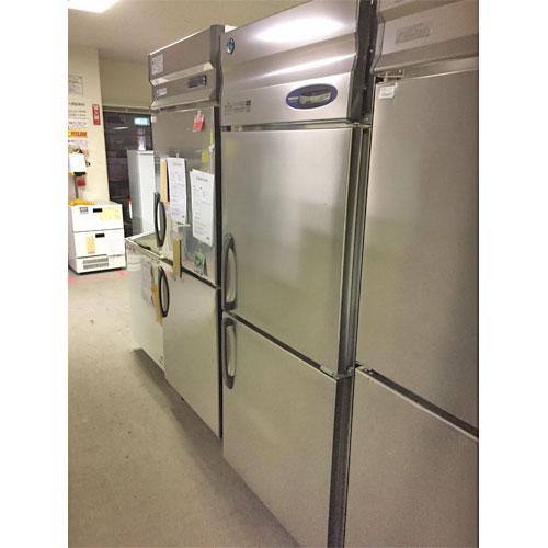 【中古】2ドア縦型冷凍庫 ホシザキ HF-75Z3 幅750×奥行800×高さ1890 三相200V 【送料無料】【業務用】