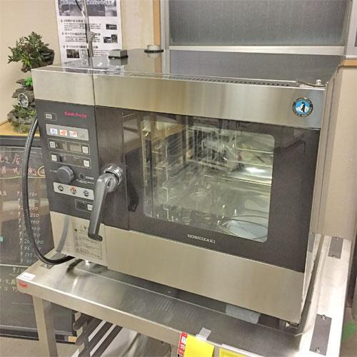 【中古】スチームコンベクションオーブン ホシザキ MIC-5TA3 幅800×奥行560×高さ685 三相200V 【送料無料】【業務用】【厨房機器】