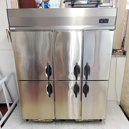 【中古】縦型冷凍冷蔵庫 大和冷機 503S2-EC 幅1500×奥行800×高さ1880 三相200V 【送料無料】【業務用】