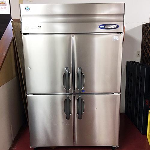 【中古】縦型冷凍冷蔵庫 ホシザキ HRF-120ZT3 幅1200×奥行650×高さ1890 三相200V 【送料無料】【業務用】