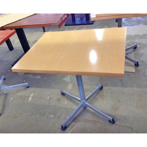 【中古】2人掛けテーブル 幅600×奥行750×高さ700 【送料無料】【業務用】