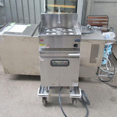 【中古】ゆで麺機 三方ガード マルゼン MREK-044 幅450×奥行450×高さ800 三相200V 【送料無料】【業務用】