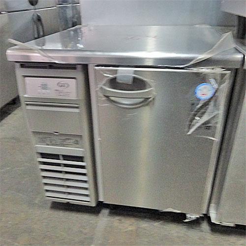 【中古】冷蔵コールドテーブル 福島工業(フクシマ) AYW-080RM 幅755×奥行750×高さ800 【送料別途見積】【業務用】
