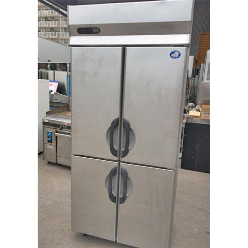 【中古】縦型冷蔵庫 パナソニック(Panasonic) SRR-G961S 幅900×奥行600×高さ2000 【送料無料】【業務用】