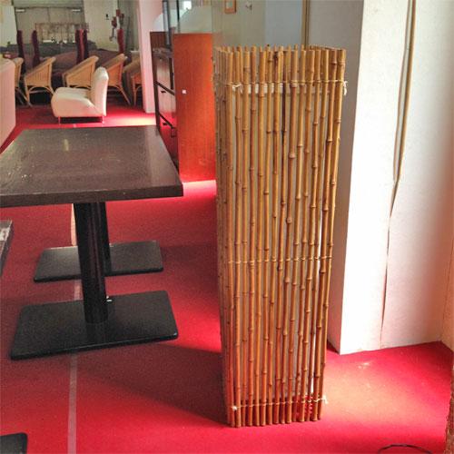 【中古】竹 照明 幅340×奥行340×高さ1200 【送料無料】【業務用】