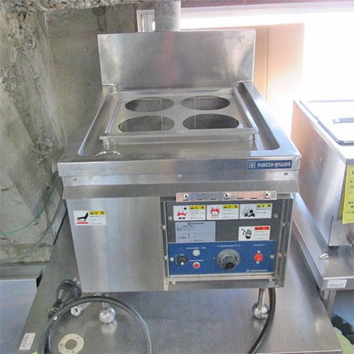 【中古】電気ゆで麺機 ニチワ電機 ENB-450H 幅450×奥行570×高さ450 三相200V 【送料無料】【業務用】