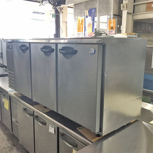 【中古】冷凍コールドテーブル サンヨー SUF-G1861 幅1800×奥行600×高さ800 【送料別途見積】【業務用】