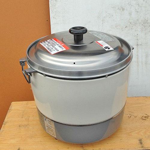 【中古】ガス炊飯器 リンナイ RR-30S1 幅410×奥行410×高さ360 LPG(プロパンガス) 【送料無料】【業務用】
