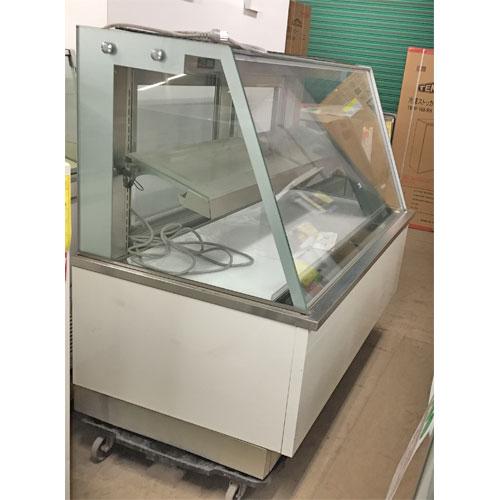 【中古】冷蔵ショーケース OKAMURA UA00SPS0116 幅1500×奥行780×高さ1200 三相200V 【送料無料】【業務用】【厨房機器】