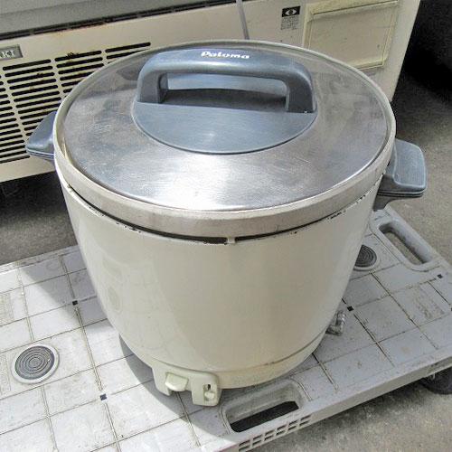【中古】ガス炊飯器 パロマ RR403SF 幅430×奥行330×高さ320 都市ガス 【送料別途見積】【業務用】
